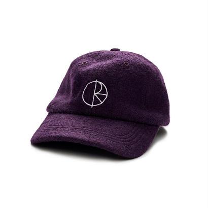 POLAR SKATE BOILED WOOL CAP Aubergine