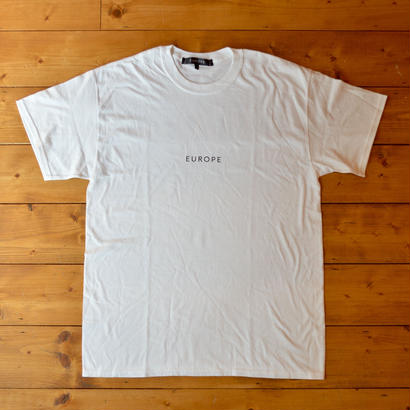 EUROPE CO. Block logo T-Shirt - White