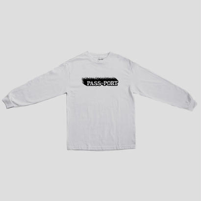"PASS~PORT ""ICY HOT"" L/S TEE WHT"