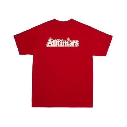 ALLTIMERS BROADWAY TEE RED