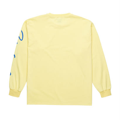 POLAR SKATE CO. SIGNATURE LONGSLEEVE Light Yellow