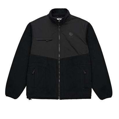 POLAR SKATE CO. HALBERG FLEECE JACKET BALCK