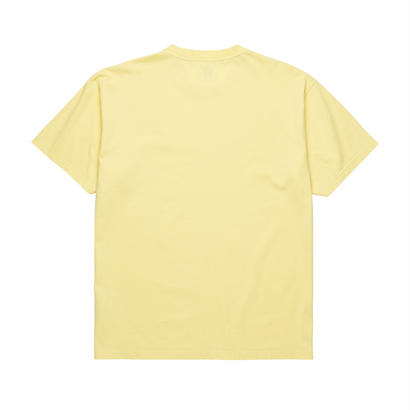 POLAR SKATE CO. HAPPY SAD GARMENT DYED TEE Light Yellow