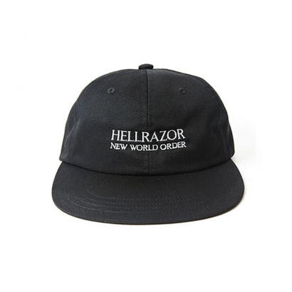 Hellrazor New World Order 6panel Cap - Black