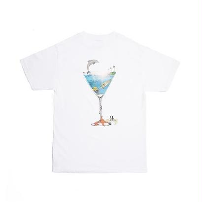 ALLTIMERS TROPICAL FANTASY TEE WHITE