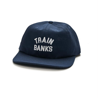 POLAR SKATE CO. TRAIN BANKS CAP NAVY