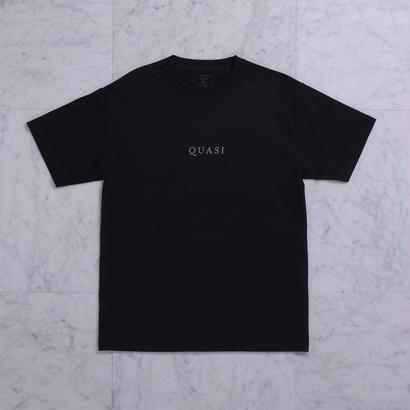 QUASI SKATEBOARDS Logos TEE - Black
