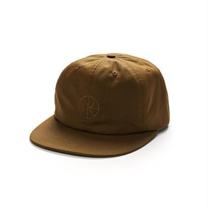 POLAR SKATE CO. WAXED COTTON CAP Brown