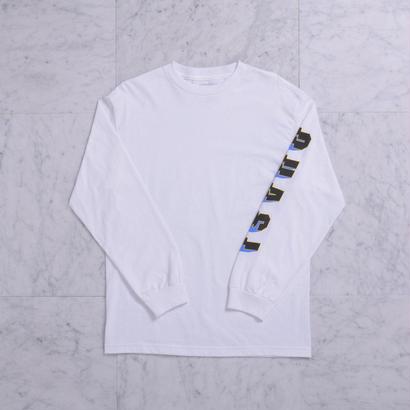 QUASI SKATEBOARDS Prix L/S T-shirts  [White]