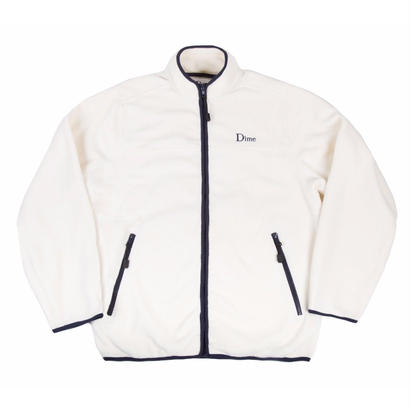 DIME POLAR FLEECE JACKET  CREAM & NAVY