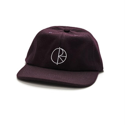 POLAR SKATE CO. WOOL CAP AUBERGINE
