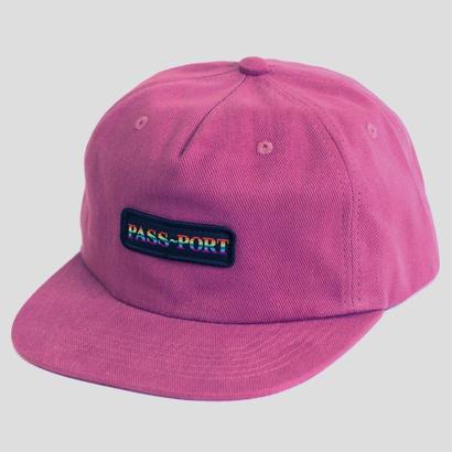 PASS~PORT - PRIDE OFFICIAL ~ 5 PANEL CAP PURPLE