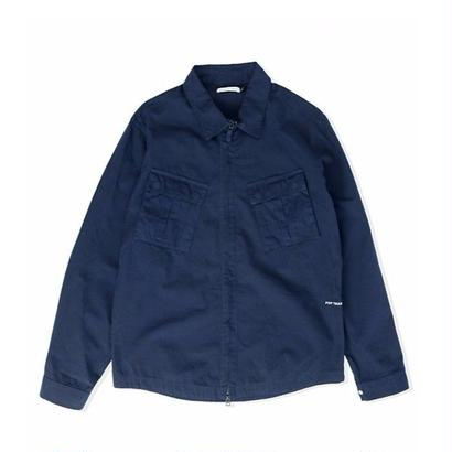 POP TRADING CO. FALLING DOWN OVERSHIRT NAVY