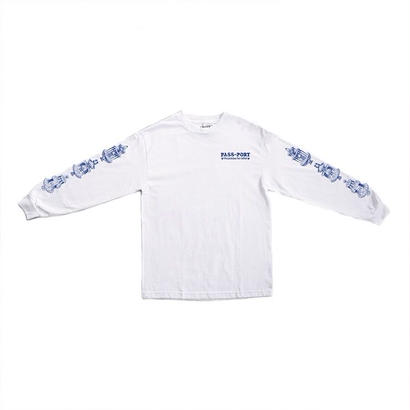 PASS~PORT - FOUNTAINS FOR LIFE L/S TEE - WHITE