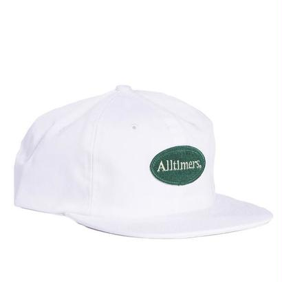 ALLTIMERS SIMPLE HAT WHITE