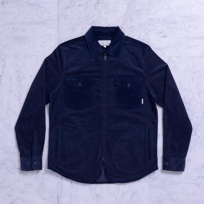 QUASI   Corduroy Shirt Jacket [Navy]