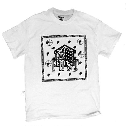 PUBLIC HOUSING SKATE TEAM PHST PAISLEY BANDANA T-SHIRT