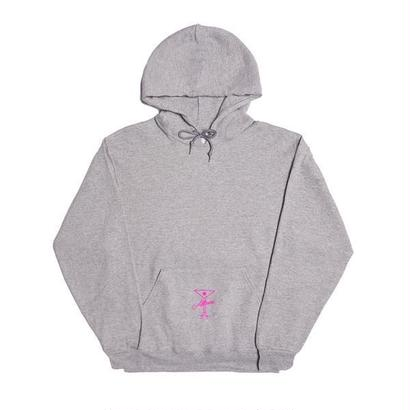 ALLTIMERS LEAGUE PLAYER HOODY HEATHER GREY