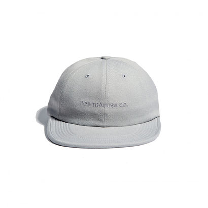POP TRADING CO. FLEXFOAM SIXPANEL HAT GREY