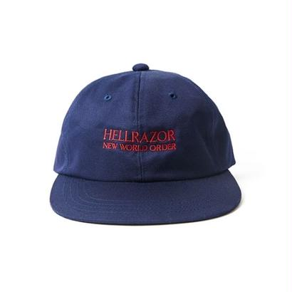 Hellrazor New World Order 6panel Cap - Navy