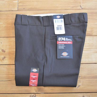 Dickies Original 874 Work Pants - Dark Brown
