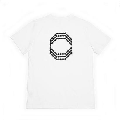 OCTAGON CELL T-SHIRT - WHITE