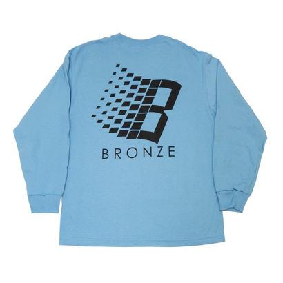 BRONZE56K B LONGSLEEVE SHIRT SLATE/BLACK