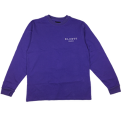 BLOBYS Paris Longsleeve T Shirt Purple