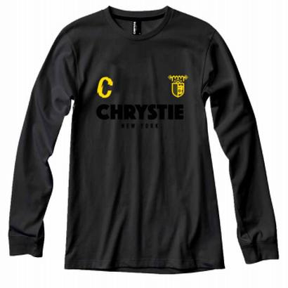 CSC X CHRYSTIE L/S SOCCER JERSEY BLACK