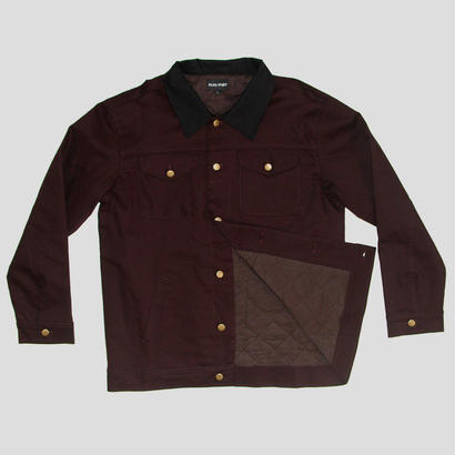 "PASS~PORT WORKERS ""LATE"" JACKET CACAO"