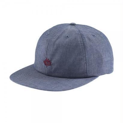 MAGENTA 6 PANEL CHAMBERAY CAP BLUE