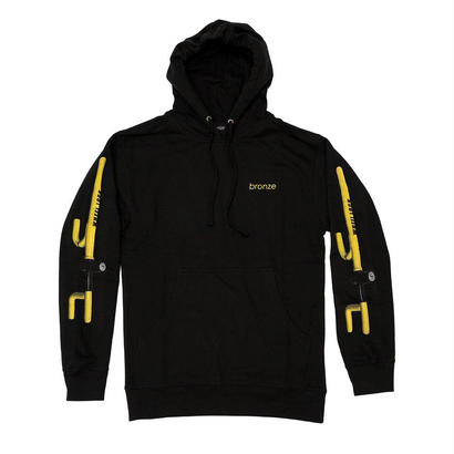 BRONZE56K THE CLUB HOODY BLACK