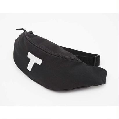 Theobalds Cap Co. T-Bag - Black / White