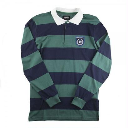 MAGENTA SKATEBOARDS LS LIGHT POLO RUGBY