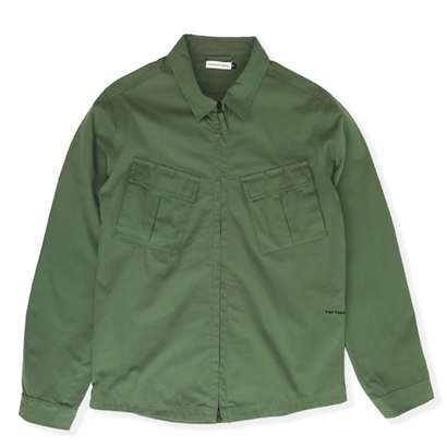 POP FALLING DOWN OVERSHIRT OLIVE
