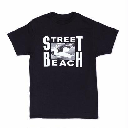 LEWIS CRUISE STREET BEACH T-SHIRT BLACK