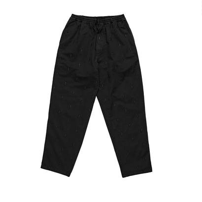 POLAR SKATE CO. SURF PANTS - NO COMPLY BLACK