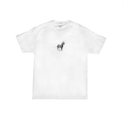 LURKNYC ZEBRA T-SHIRT WHITE
