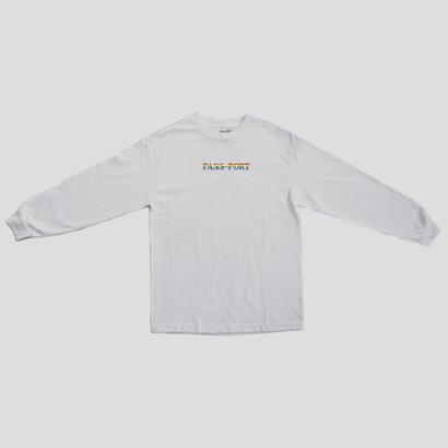 PASS~PORT - PRIDE OFFICIAL LONG SLEEVE WHITE