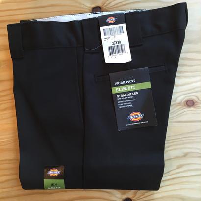 Dickies Slim Fit 873Work Pants - Black