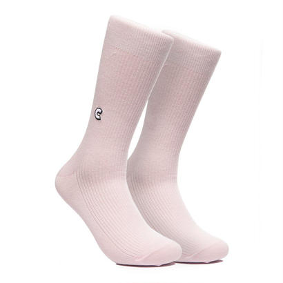 CHRYSTIE NYC CHRYSTIE CASUAL SOCKS / LIGHT PINK
