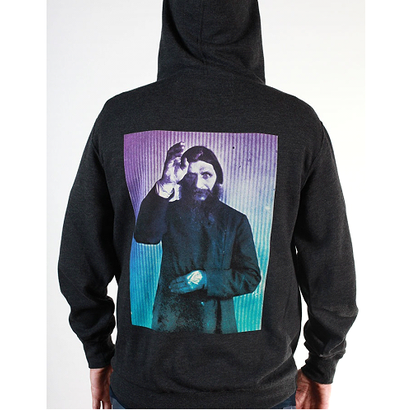 Theories Rasputin Pullover Hoody Charcoal