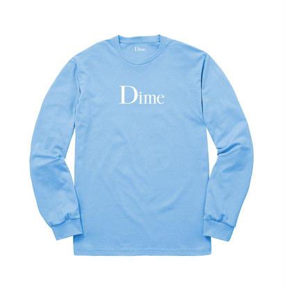 DIME CLASSIC LONG SLEEVE T-SHIRT BLUE