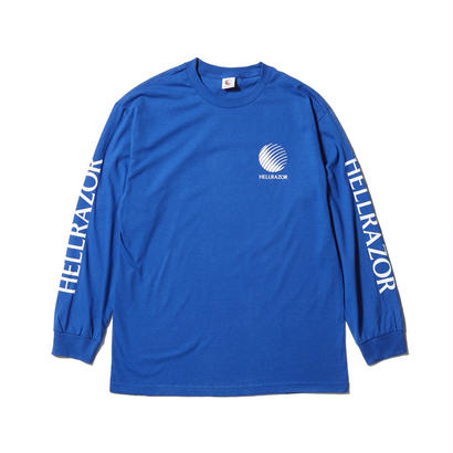 HELLRAZOR COMMERCIAL L/S TEE ROYAL