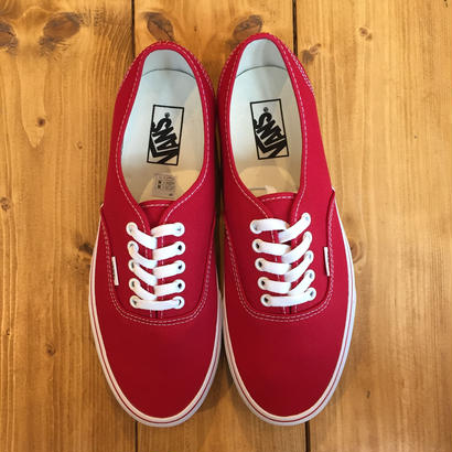 VANS USA AUTHENTIC RED