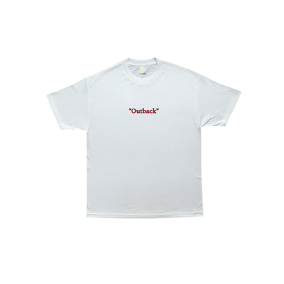 COME SUNDOWN 'OUTBACK' T-SHIRT WHITE