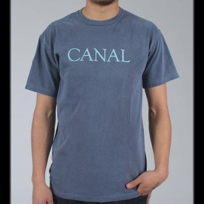 """Canal """"Goudy"""" Tee - Denim"""