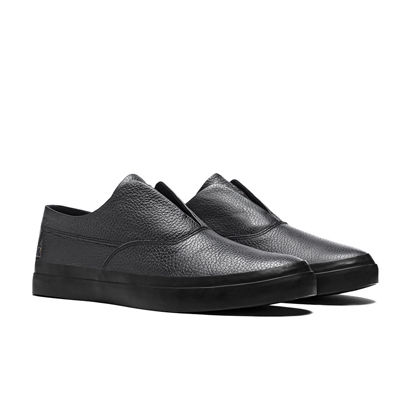 HUF Dylan Slip On Black Grain