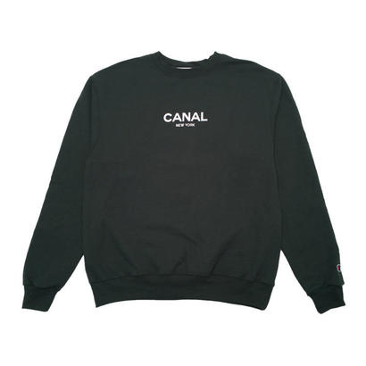 "CANAL ""CLASSIC LOGO"" CHAMPION CREW - FORREST"