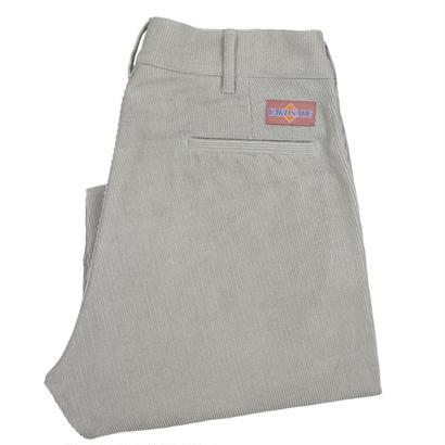 YARDSALE Silver corduroy slacks